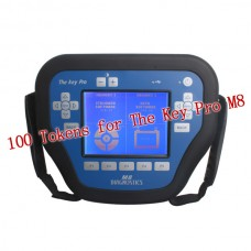 100 Tokens for The Key Pro M8 Auto Key Programmer M8 Diagnosis Locksmith Tool
