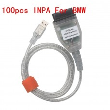 100pcs New BMW INPA K+CAN With FT232RQ Chip with Switch