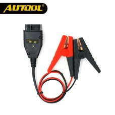 AUTOOL BT30 Car ECU Emergency Power Battery Clips Auto Computer ECU MEMORY Alligator Clamps Constant Electric Car Accessories