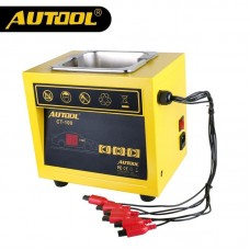 AUTOOL CT-100 MINI Fuel Injector Cleaner Car Motorcycle Petrol and Diesel Auto Ultrasonic Injector Cleaning Tool 110V/220V CT100