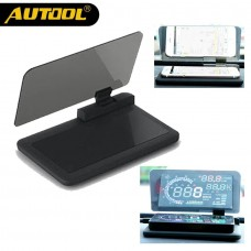 AUTOOL H6 Universal HUD Head Up Display Holder Car GPS Navigator Smartphone Projector Mount Stand Autos Phone Holding Rack