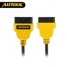 AUTOOL OBD2 Car Connector Cable Autos 16Pin Extension Cables Different Length Connect Cord Vehicle OBDII Adapter Extend Wire