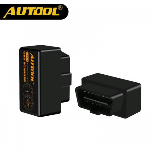 AUTOOL OBOX Bluetooth Car Diagnostic Elm327 OBD 2 Scanner Mini Elm 327 v1.5 OBD2 OBD II Interface Auto Adapter Works For Android