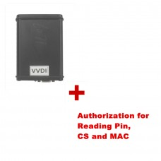 Buy Latest VVDI V3.5.3 Get Free Authorization to Read Pin CS and MAC