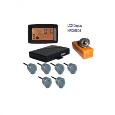 Colorful LCD With 6 Sensors Parking Sensor On Sale