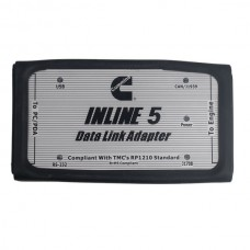 Inline 5 Insite 7.62 Data Link Adaptor for Cummins Support Multi Languages Without Carrying Case