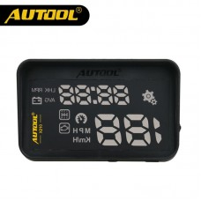 Official AUTOOL X210 Auto Car Head-Up Display Projector OBD II Vehicle Speeding Warning MPH/KM/h with Anti-slip Pad
