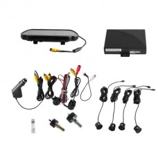 "Video Parking Sensor With Camera and 7"" TFT Monitor By Express Shipping"